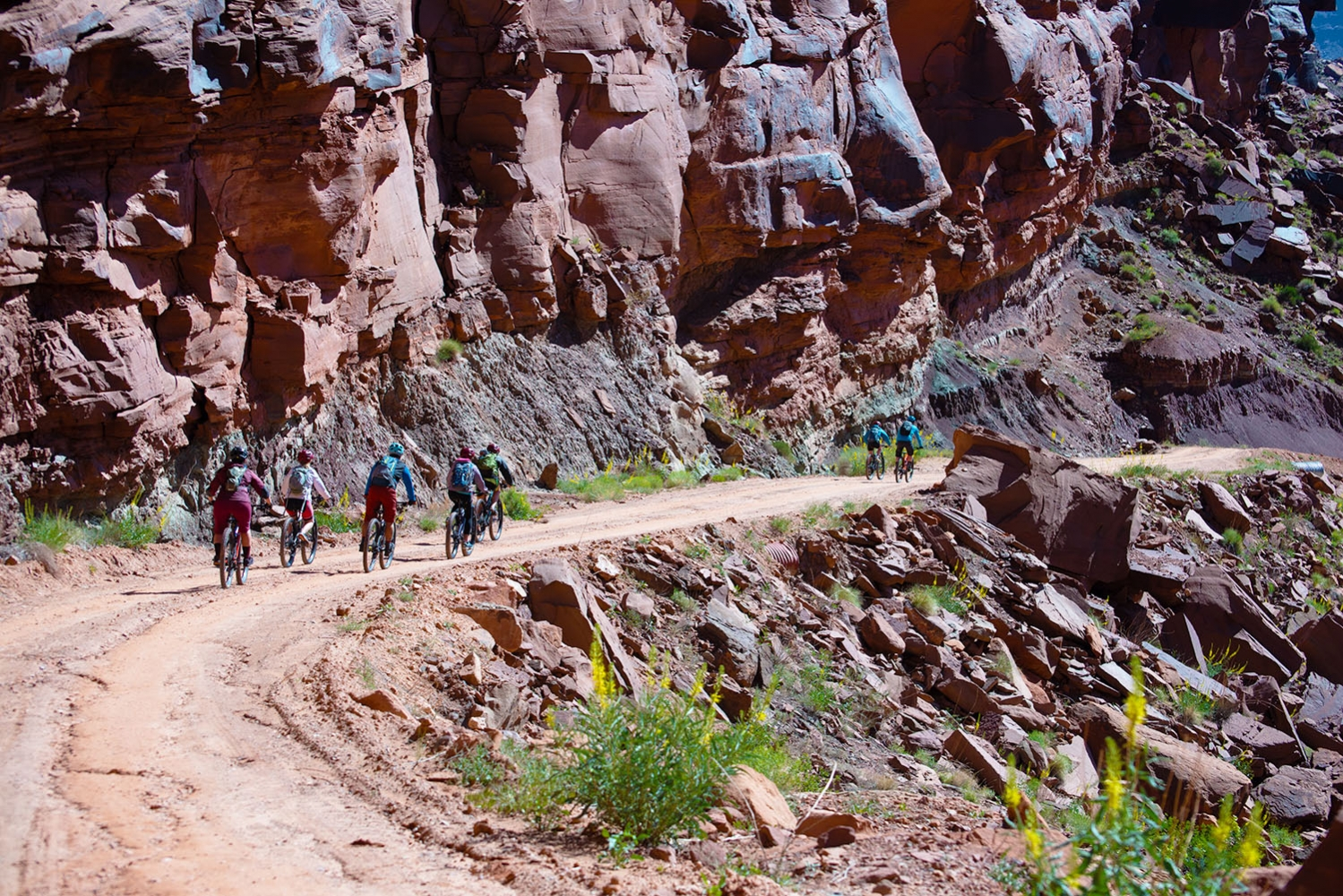Canyonlands-National-Park-Full-Day-Guided-Mtb-Tour-Leaving-Fossil-Site