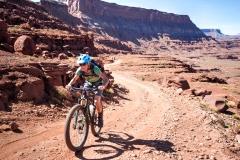 Beth makes Summit of Hurrah Pass