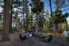 Dog Point Camp (Helen, Lulu, Peter, Russel, Jack)