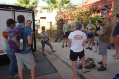 Meeting Guests at the Red Lion in St. George, Utah