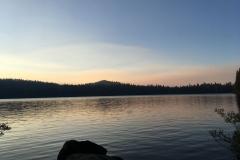 Evening-Sunset-on-Lake