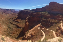 Shafer Trail Road, White Rim (by guest Bob W)