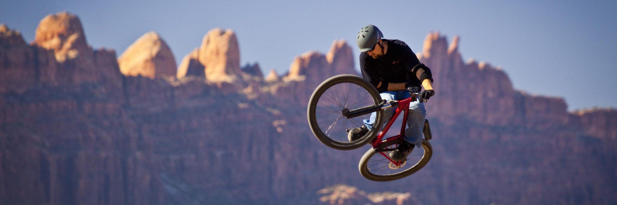 Moab Rim, Catching big air