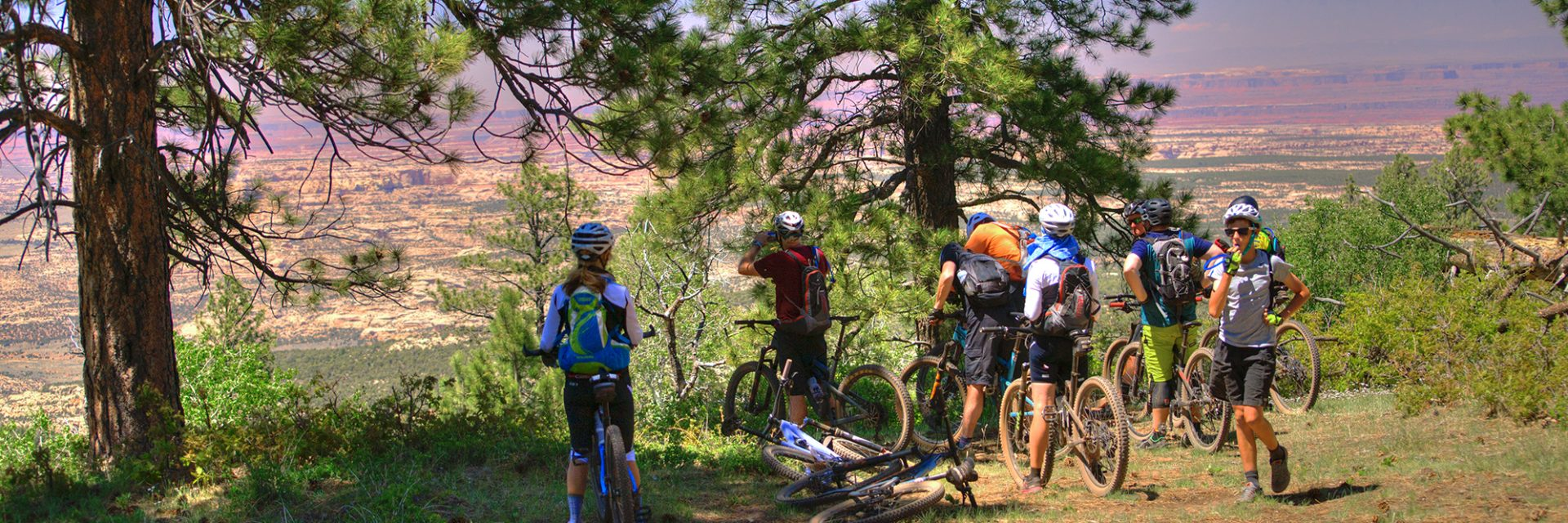 Bears Ears riders arrive at Camp 2 off the North Point Road