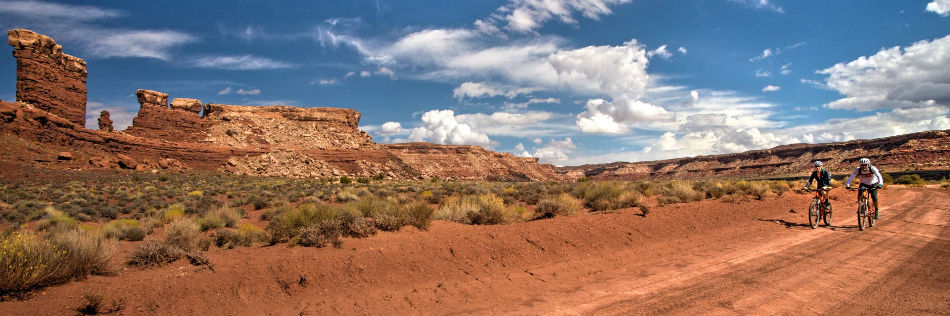 The final day of The Maze tours in Canyonlands National Park is a long ride but fast and very scenic
