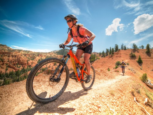 Thunder Mountain singletrack is a once-in-a-lifetime ride through Bryce Canyon scenery