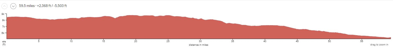 BE3 Elevation Profile