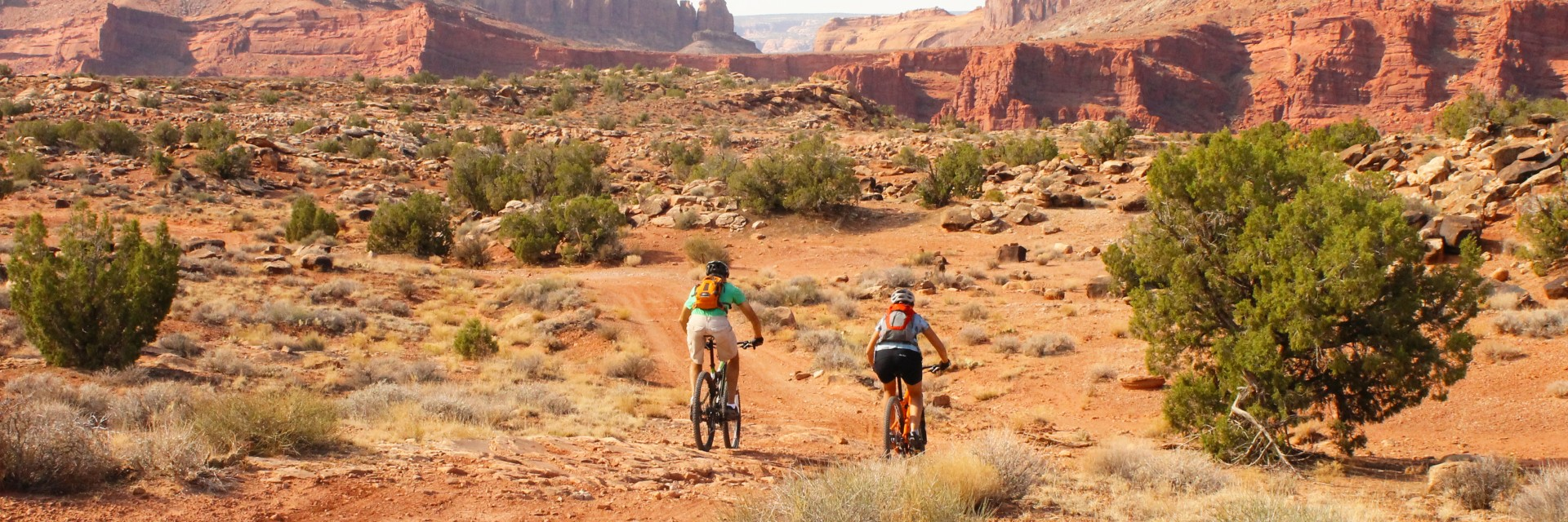Moab Brands Trails includes the Courthouse Loop