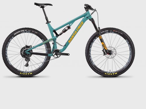 2017 Santa Cruz Bronson rental bike