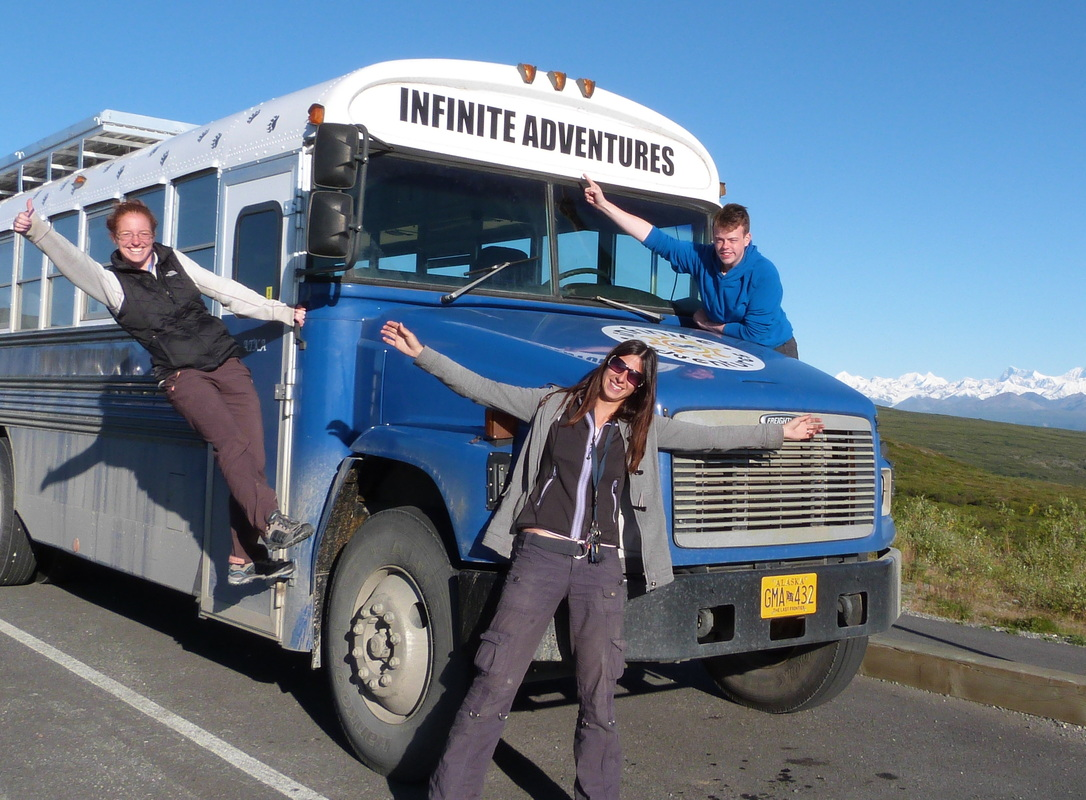 Adventure Holiday in converted bus
