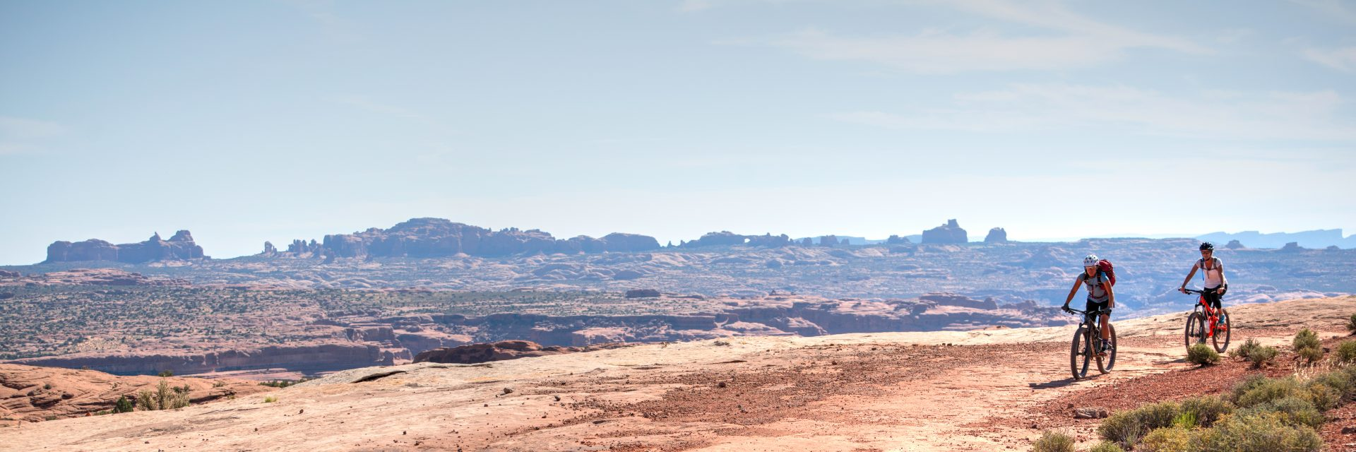Courthouse Loop of Bar M with Windows Section of Arches NP on horizon