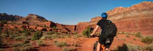 Rusty Spur, off Courthouse Loop, Moab UT mountain bike