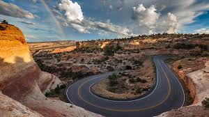 Guests flying into Grand Junction, CO can visit the Colorado National Monument before or after their mountain bike tour