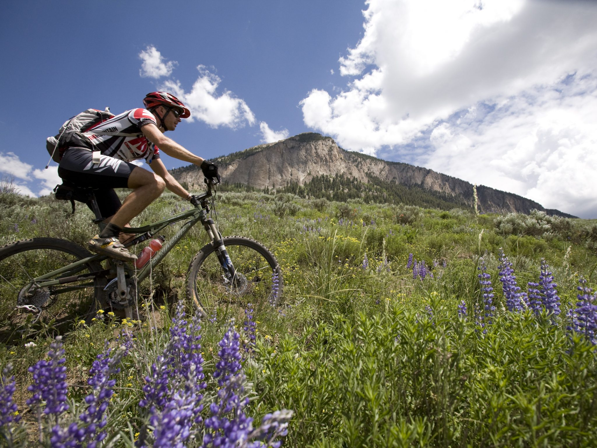 Our guided mountain bike tour of the Colorado Trail is the most advanced multi-day tour available