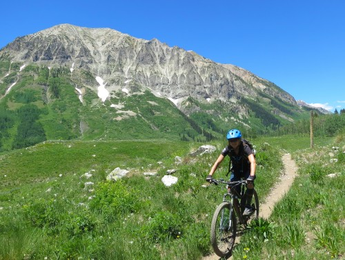 Crested Butte camping based and inn based multi-day guided mountain bike tours