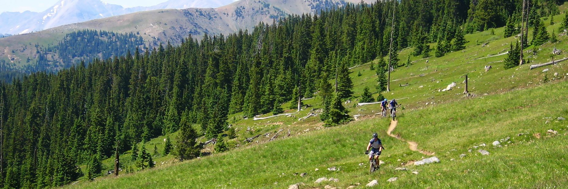 Crested Butte has challenging intermediate singletrack