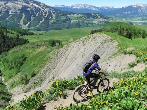 Crested Butte singletrack playground above timberline