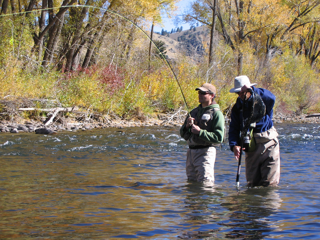 Guides fly fishing near Crested Butte