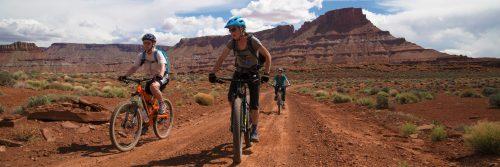 Crossing Lockhart Basin on Needles to Moab