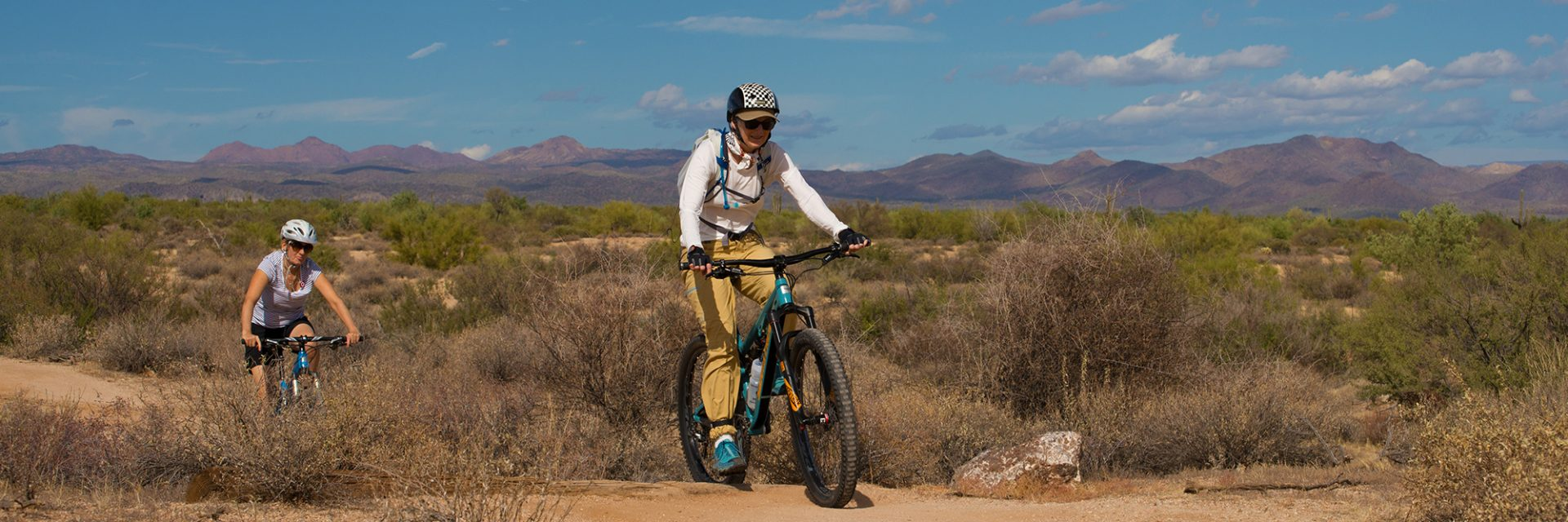 East Leg of Pemberton Trail, McDowell Mountain Park, Arizona's Sonoran Desert guided mtb tour near Phoenix, AZ