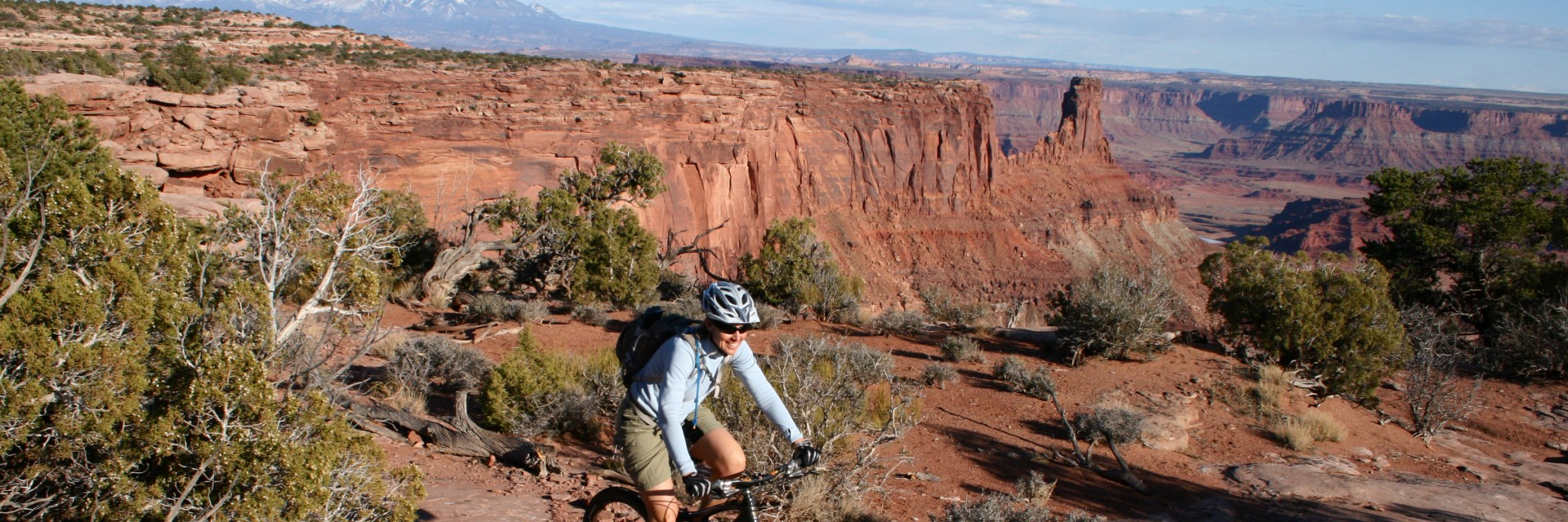 Dead Horse Point State Park - Intredpid Trail, is one of the most popular half and full day tours in Moab, UT