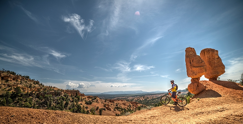 Mountain Bike Bryce Zion Panorama