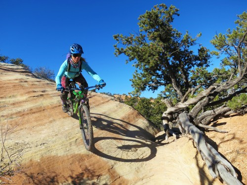 Fruita has slickrock, and plenty of singletrack to explore on Rim Tours' guided mountain bike tour