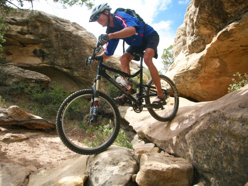 Gooseberry Mesa is a maze of technical singletrack