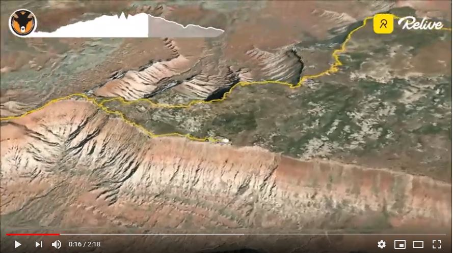 Gooseberry Mesa 4-day Route Video