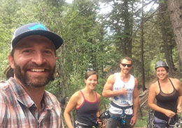 Jeff Lefebvre Rim Mountain Bike Guide