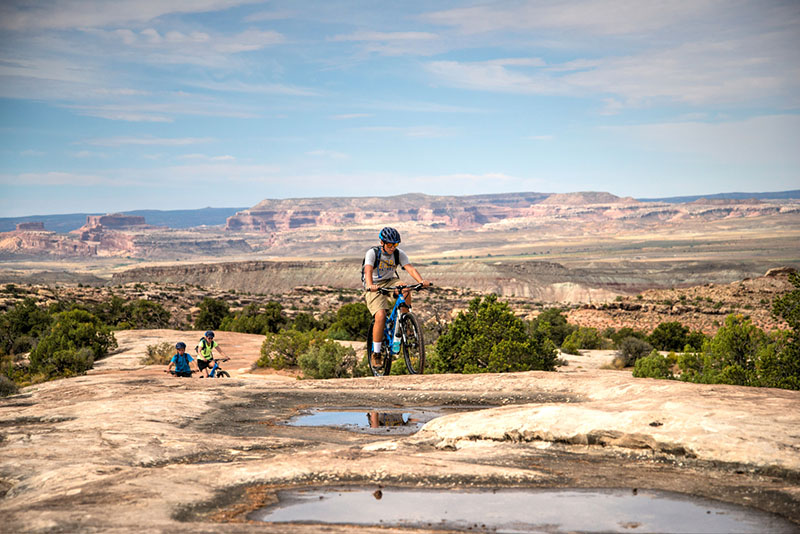 Klondike Bluff Mountain Bike Singletracks in Arches and Canyonlands