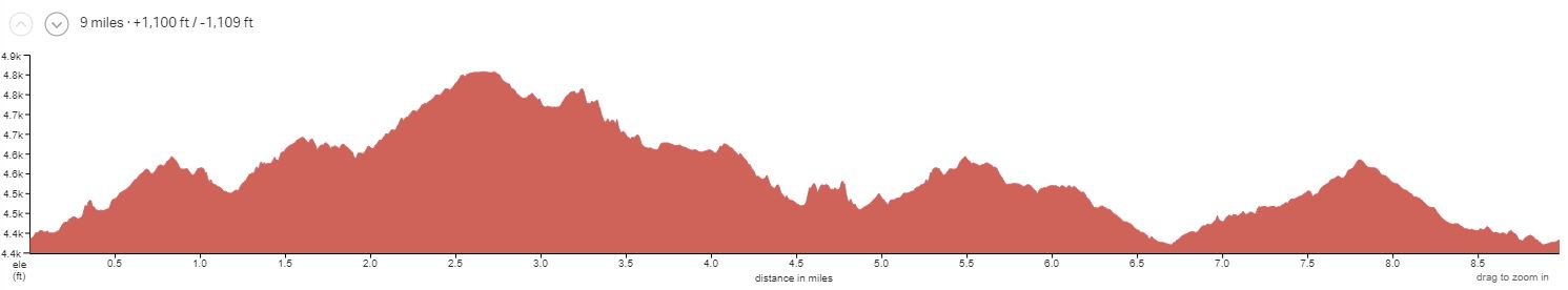 Klonzo Elevation Profile