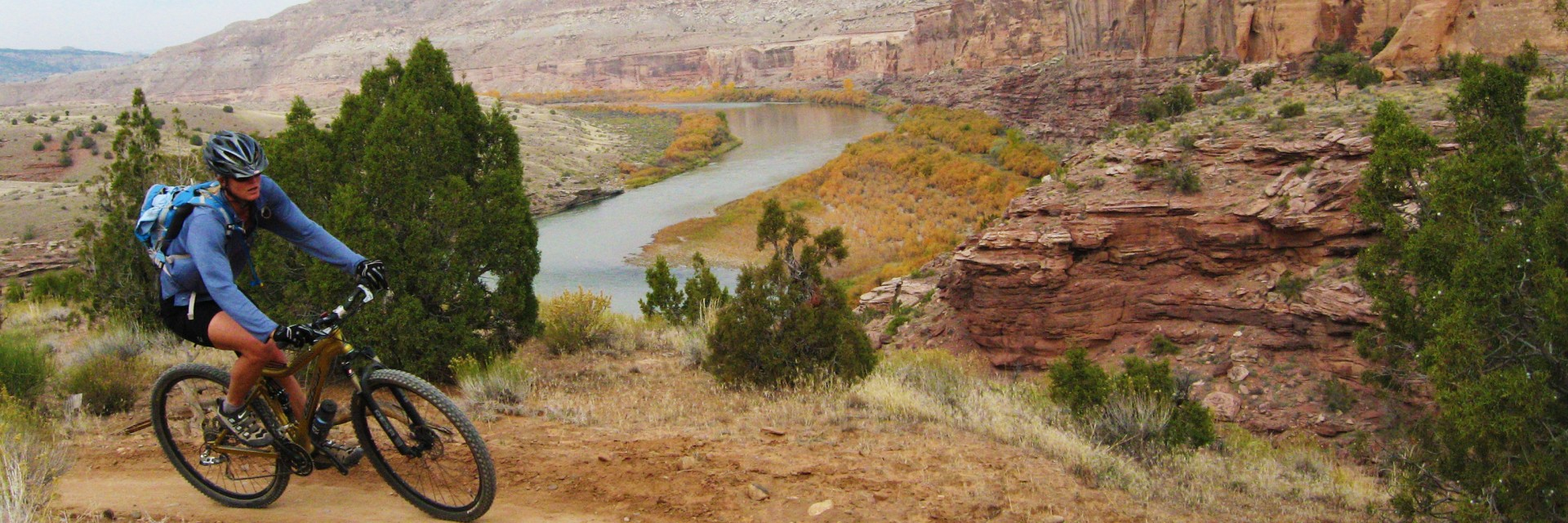 Kokopelli Singletrack above the Colorado River