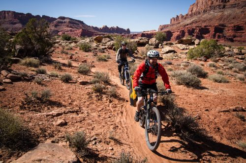 Moab Brands Trail Half-day