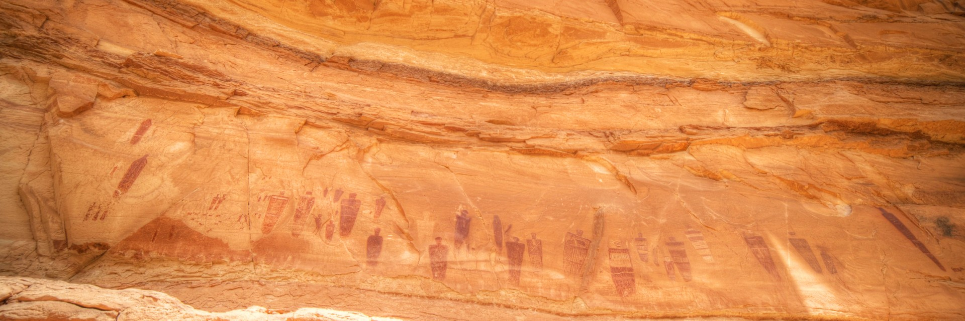 The Great Gallery, Horseshoe Canyon Unit, Canyonlands NP