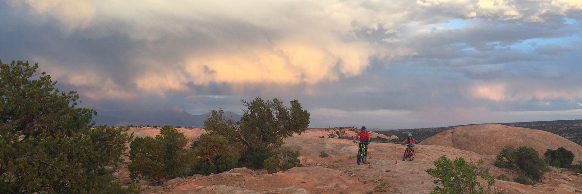 Rocky Tops, Navajo Rocks, Intermediate singletrack, Moab UT