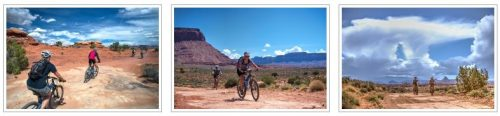 A photo gallery for the Needles to Moab guided mountain bike tour