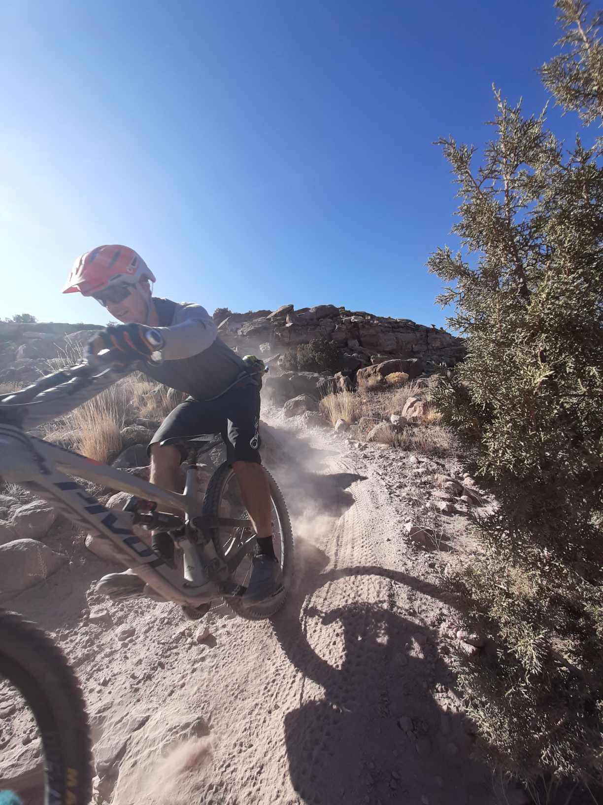 Moab Mountain Biking singletrack