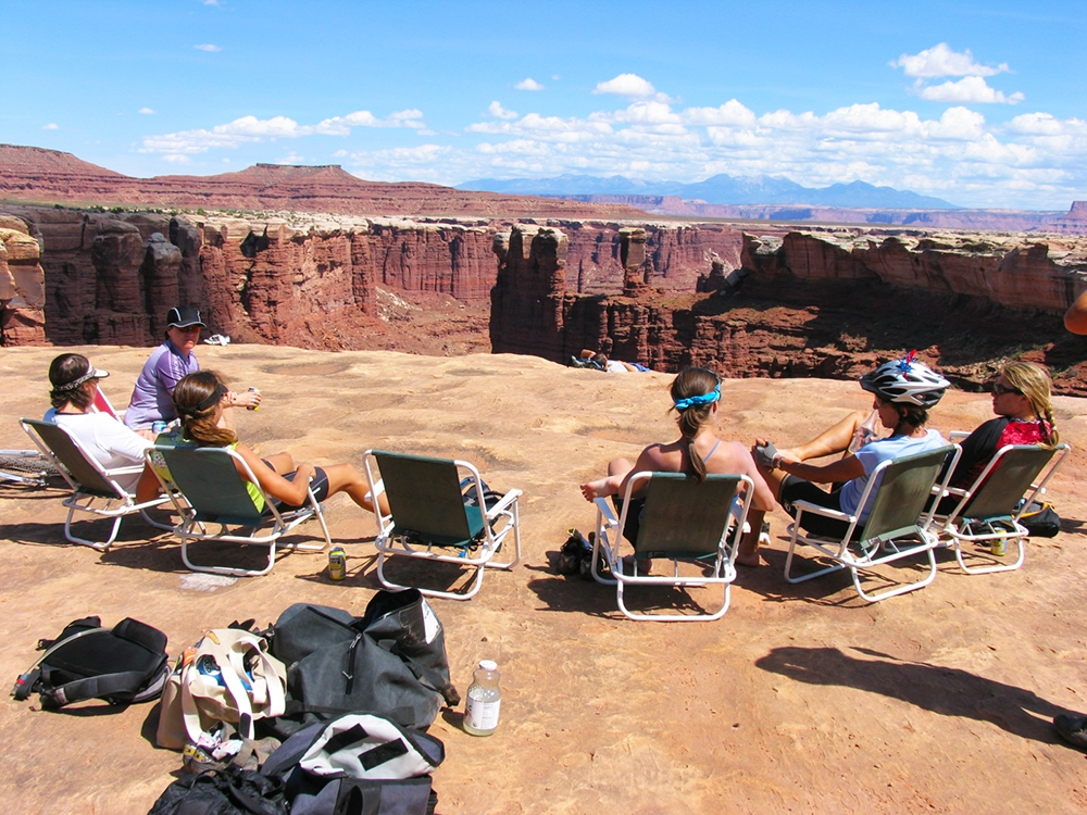 Camping on The White Rim Trail