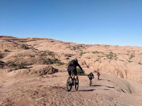 Slickrock Trail | grippy surface