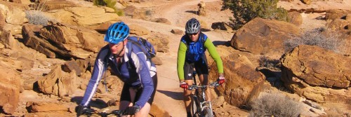 The Sovereign Trail system north of Moab