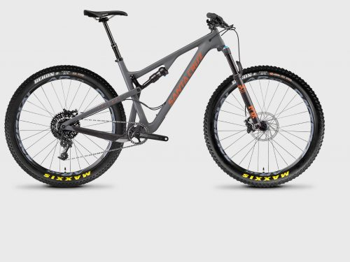 2017 Santa Cruz Tallboy (carbon) rental bike