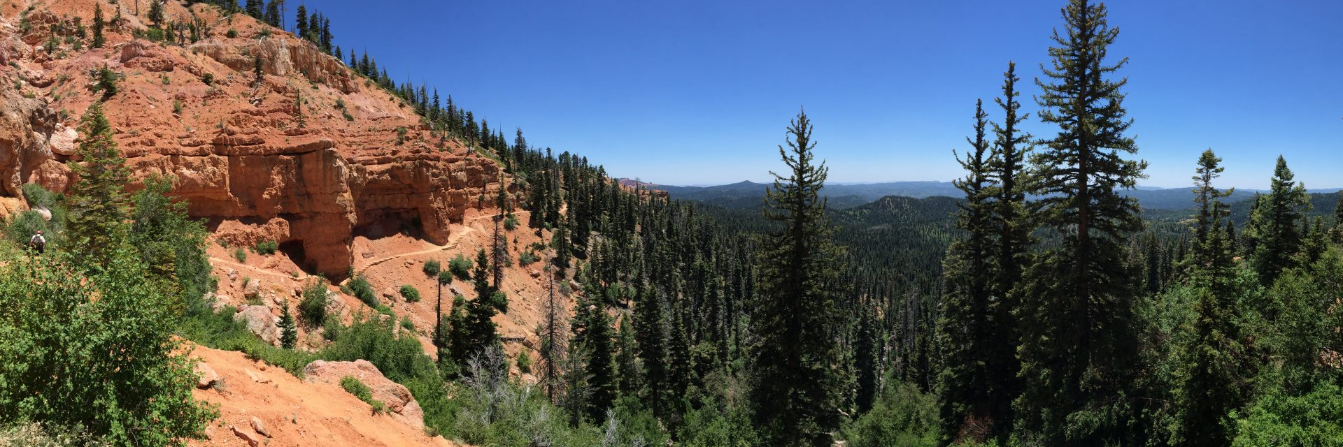 Trail to Cascade Falls, Bryce to Zion Tour