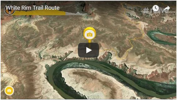 White Rim Trail Route Video