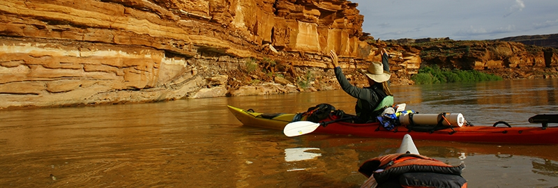 kayaking green river labyrinth canyon