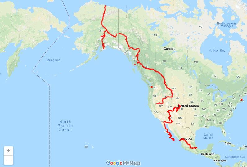 Mtb Adventure from Alaska to Argentina